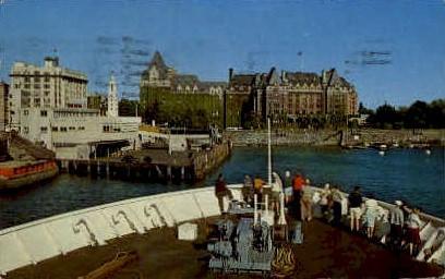 Victoria Harbor - Washington WA Postcard