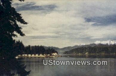 Hood Canal - Bremerton, Washington WA Postcard