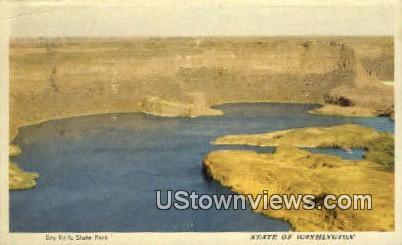 Dry Falls State Park, Wash,     ;     Dry Falls State Park, WA - Washington WA Postcard