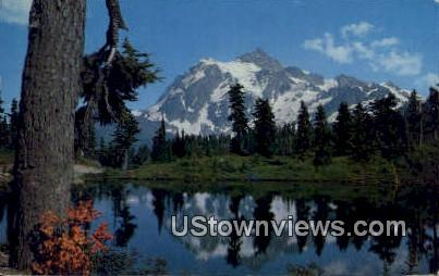 Mt Shuskan - Mt. Baker National Forest, Washington WA Postcard