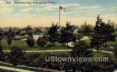 Elizabeth Park - Bellingham, Washington WA Postcard