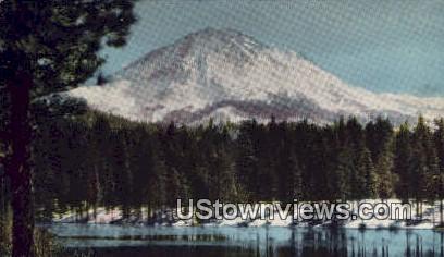 Mount Lassen, WA     ;     Mount Lassen, Washington Postcard