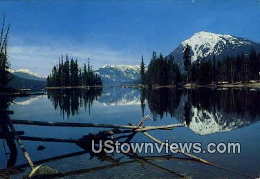 Lake Wenatchee, Washington,     ;     Lake Wenatchee, Wash Postcard