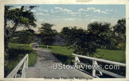 Oakville, Wash,     ;     Oakville, WA - Washington WA Postcard