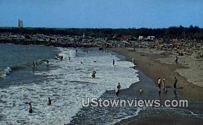 Waikiki Beach, Washington,     ;     Waikiki Beach, Wash Postcard