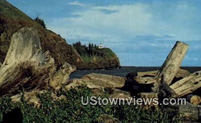 Columbia River Bar - Cape Disappointment, Washington WA Postcard