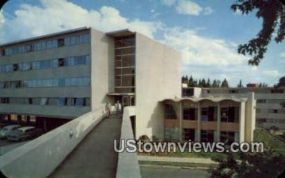 New Kruegel Hall - Misc, Washington WA Postcard