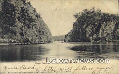 Canoe Pass - Bellingham, Washington WA Postcard