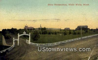 State Penitentiary - Walla Walla, Washington WA Postcard