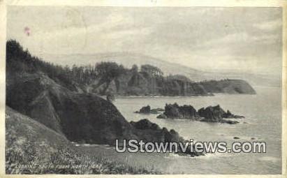 North Head, WA     ;     North Head, Washington Postcard