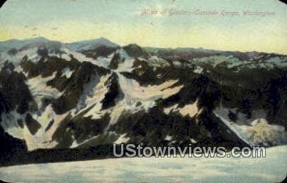 Cascade Range, Wash,     ;     Cascade Range, WA - Washington WA Postcard