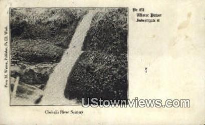 Chehalis River, Washington,     ;     Chehalis River, WA Postcard