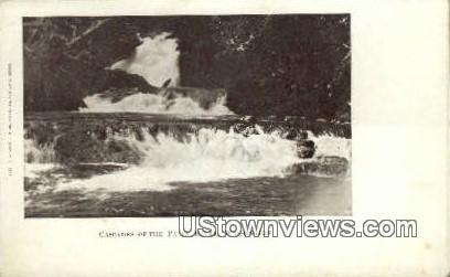 Cascades - Palix River, Washington WA Postcard