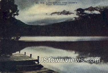 Moore's Point - Lake Chelan, Washington WA Postcard