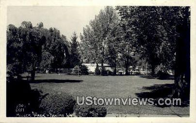 Real Photo - Miller Park - Yakima, Washington WA Postcard