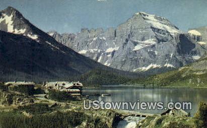 Many Glacier - Glacier National Park, Washington WA Postcard