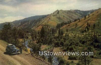 Tucannon River, Wash,     ;     Tucannon River, WA - Washington WA Postcard