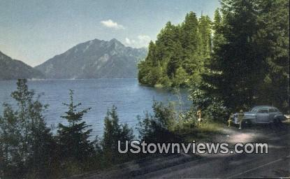 Lake Crescent, Wash,     ;     Lake Crescent, WA - Washington WA Postcard