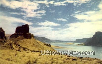Wallula Gap, Wash,     ;     Wallula Gap, WA - Washington WA Postcard
