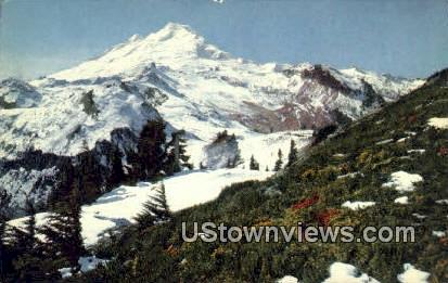 Mount Baker, Washington,     ;     Mount Baker, Wash Postcard