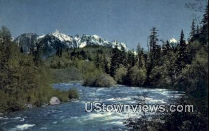 Skyhomish River, Wash,     ;     Skyhomish River, WA - Washington WA Postcard