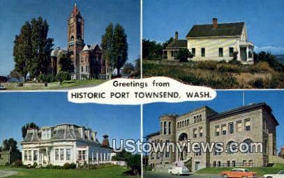 Jefferson County Court House - Port Townsend, Washington WA Postcard