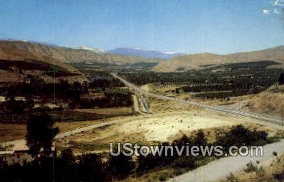 Wenatchee Valley, Wash,     ;     Wenatchee Valley, WA - Washington WA Postcard