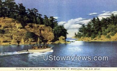 San Juan Group, Washington,     ;     San Juan Group, WA Postcard