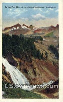 Foot Hills - Cascade Mountains, Washington WA Postcard
