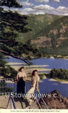 Columbia River, Washington,     ;     Columbia River, Wash Postcard