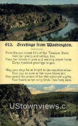 Misc, WA     ;     Misc, Washington Postcard