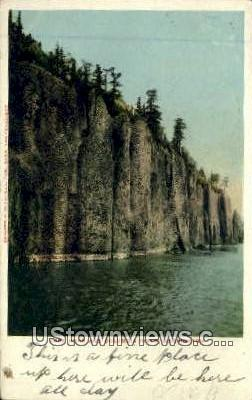 Cape Horn - Columbia River, Washington WA Postcard