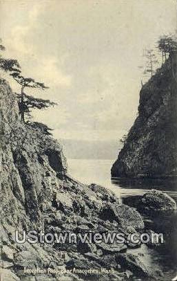 Deception Pass - Anacortes, Washington WA Postcard