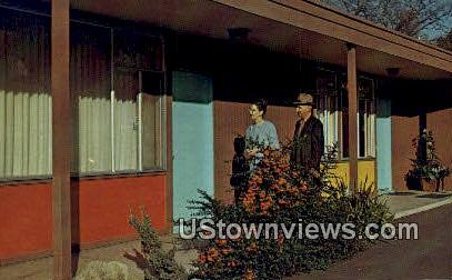 Calkins Clinic Center Motel - Spokane, Washington WA Postcard