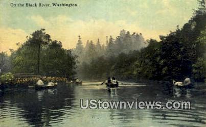 Black River, Wash,     ;     Black River, WA - Washington WA Postcard