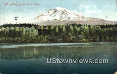 Trout Lake - Mt. Adams, Washington WA Postcard