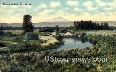Mt. Adams, Wash,     ;     Mt. Adams, WA - Washington WA Postcard