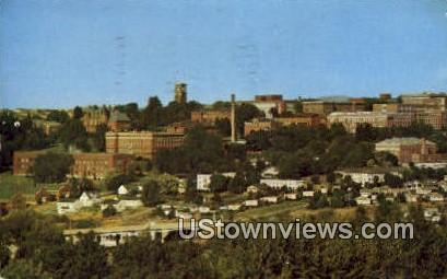 WSC's College Hill - Pullman, Washington WA Postcard
