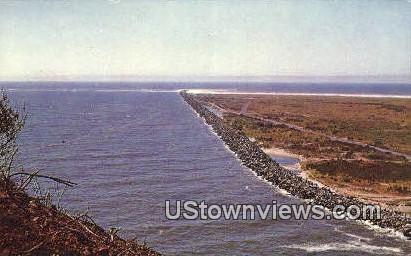 North Jetty - Long Beach, Washington WA Postcard