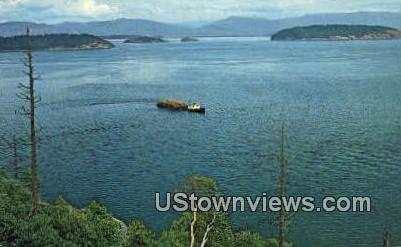 Puget Sound, Wash,     ;     Puget Sound, WA - Washington WA Postcard