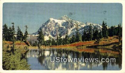 Mt. Baker National Forest, Washington,     ;     Mt. Baker National Forest, Wash Postcard