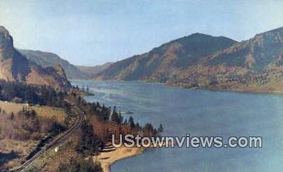 Columbia River Gorge, Wash,     ;     Columbia River Gorge, WA - Washington WA Postcard