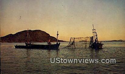 Lummi Island Feefnetters - Bellingham, Washington WA Postcard