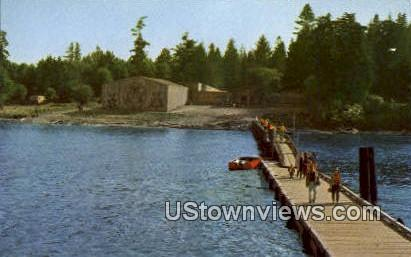 Tillicum Village - Blake Island State Park, Washington WA Postcard
