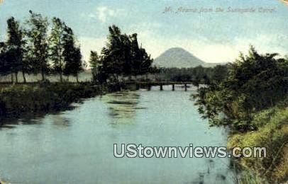 Sunnyside Canal - Mt. Adams, Washington WA Postcard
