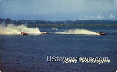 Seattle Hydroplane Races - Lake Washington Postcards, Washington WA Postcard