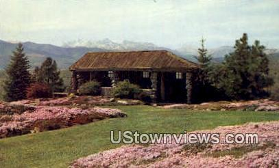 Ohme Gardens - Wenatchee, Washington WA Postcard
