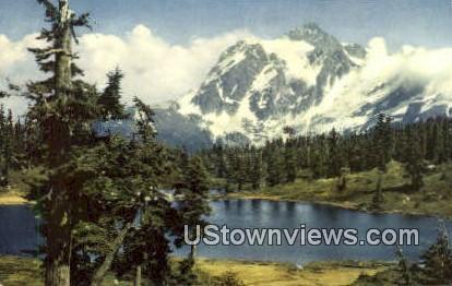Mt. Shuksan, Wash,     ;     Mt. Shuksan, WA - Mt Shuksan, Washington WA Postcard