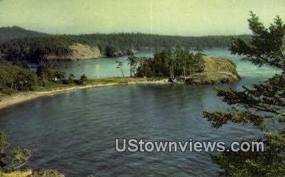 Rosario Beach - Fidalgo Island, Washington WA Postcard