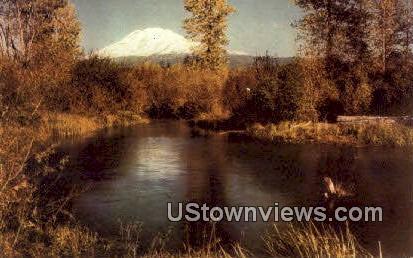 Mt. Adams, Washington,     ;     Mt. Adams, Wash Postcard